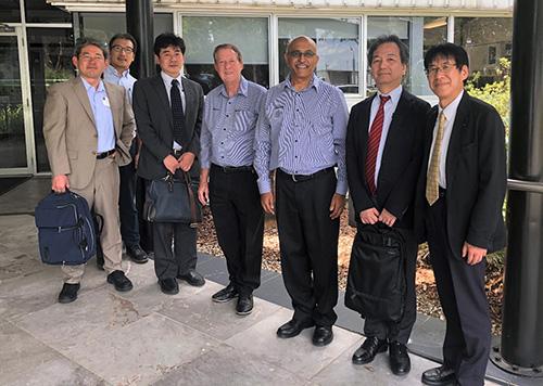 Japanese delegation to SIMTARS