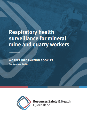 Respiratory health surveillance information for mineral mine and quarry workers