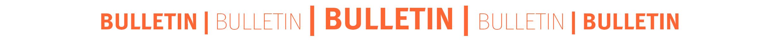 Bulletin Banner