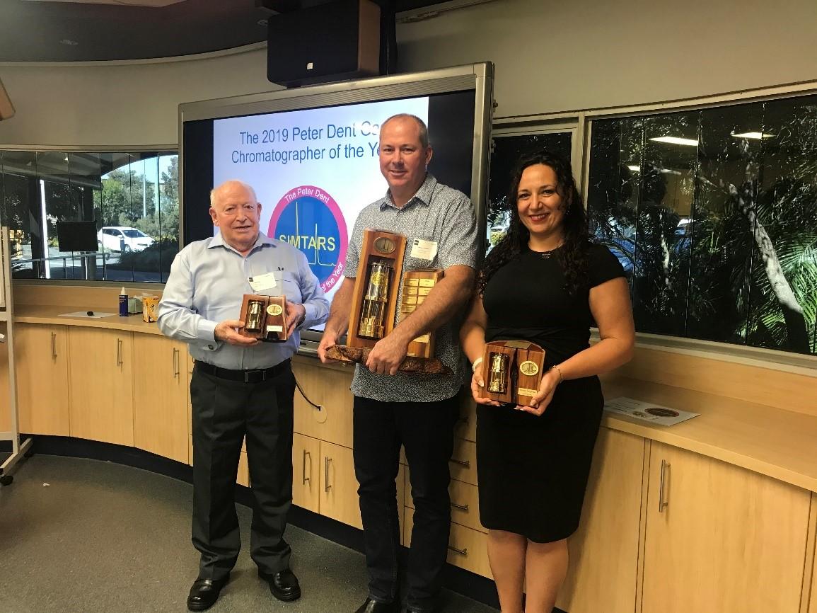 The 2019 Simtars Peter Dent Chromatographer award